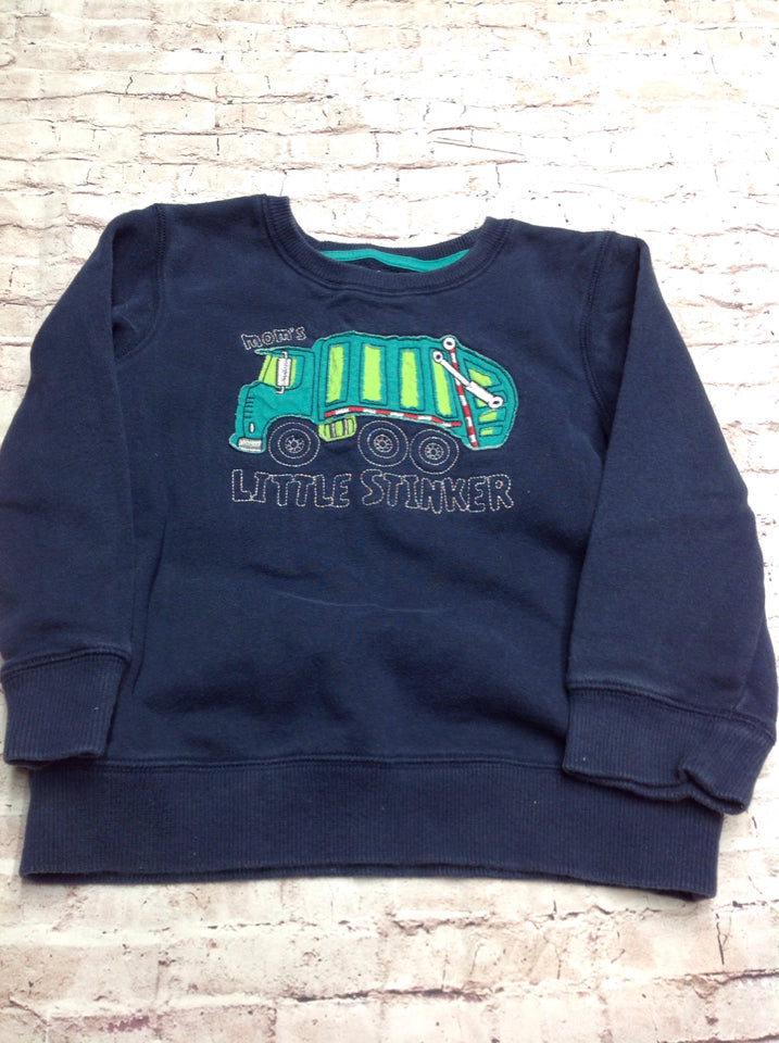 JUMPING BEANS Dark Blue Top