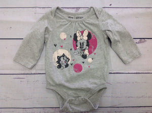 JUMPING BEANS Gray & Pink Top