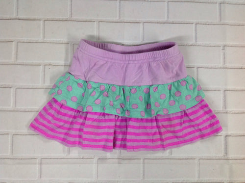 JUMPING BEANS Purple Print Skort