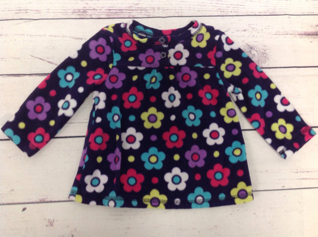 JUMPING BEANS Purple Print Top
