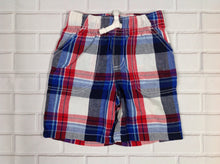 JUMPING BEANS Red & Blue Shorts