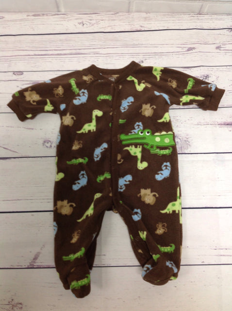 JUST ONE YOU Brown Print One Piece
