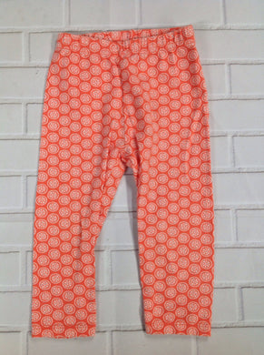 JUST ONE YOU Orange Print Leggings