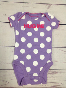JUST ONE YOU Purple Print Top