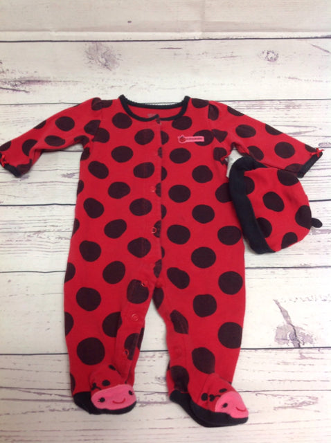 JUST ONE YOU Red & Black One Piece