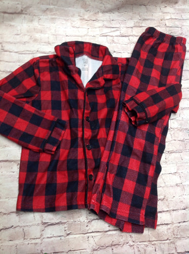 JUST ONE YOU Red & Black Sleepwear