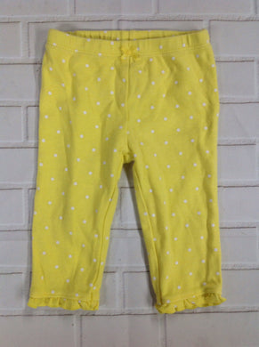 JUST ONE YOU Yellow Print Pants-