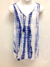 Justice Blue & White Top