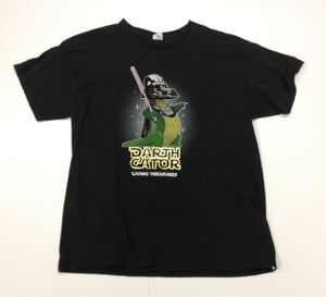 Kid Tees Black Alligator Top