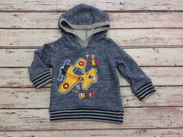 Kids Headquarters NAVY & GRAY Top