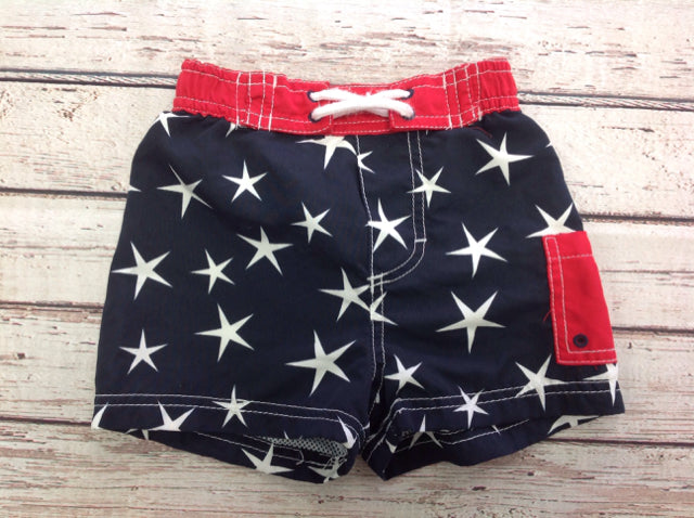 Kitestrings RED, WHITE & BLUE Stars Swimwear