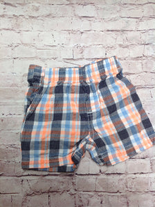 Koala Baby Orange & Blue Shorts