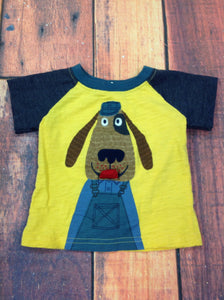 Koala Kids Yellow Print Top