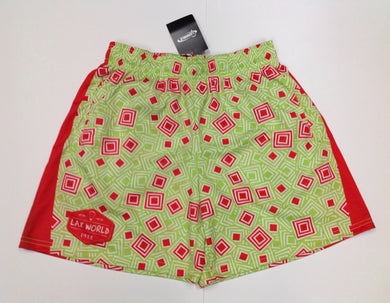 LAX World GREEN & RED Shorts