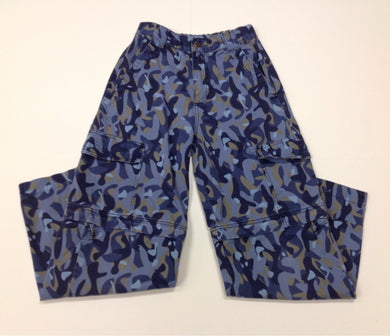 LL KIDS Blue & Tan CAMO Pants