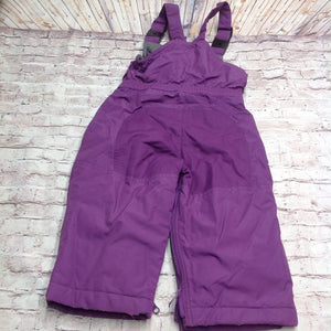Lands End Purple Snowsuit