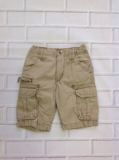Lee Tan Solid Shorts
