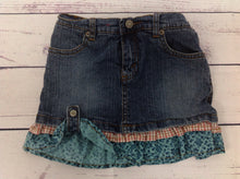 Levi Signature Denim Print Skort