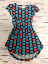 LuLa Roe BLUE & ORANGE Dress