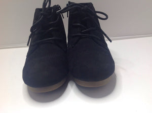 MAD LOVE Black Suede YG Footwear Boots