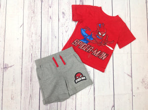 Marvel RED & GRAY 2 PC Outfit