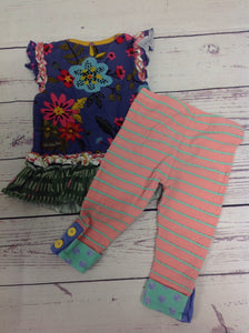 Matilda Jane Multi-Color 2 PC Outfit