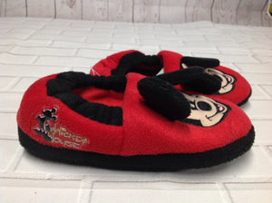 Mickey & Co. Red & Black Slippers