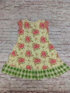 Naartijie YELLOW & PINK Dress