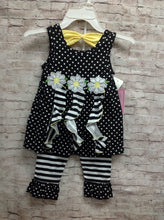 Nannette Black & White 2 pc Set