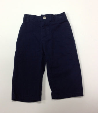 Nautica Navy Solid Pants