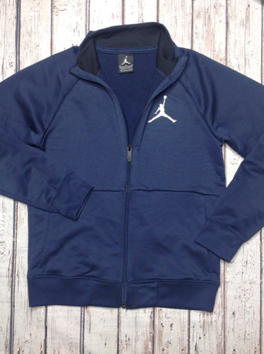 Nike Blue & Silver zip jacket Top