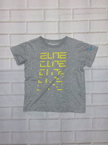 Nike GRAY PRINT Elite Top