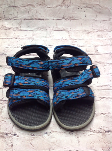*No Brand BLUE & BLACK Sandals