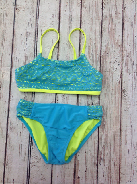 No Brand BLUE & YELLOW Swimwear