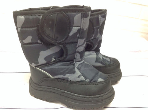No Brand Black & Gray Snowboots