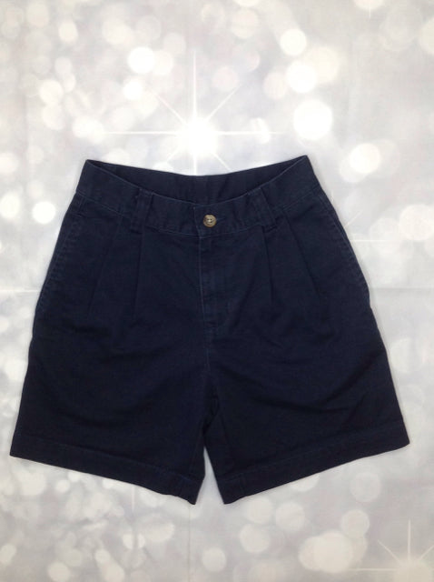 No Brand Navy Solid Shorts