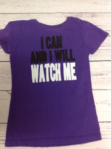 No Brand Purple Print Top