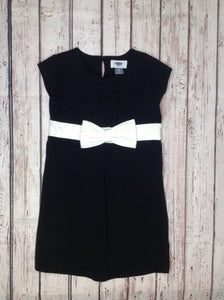 Old Navy Black & Cream Dress