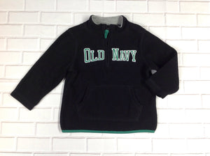 Old Navy Black & Green Logo Top