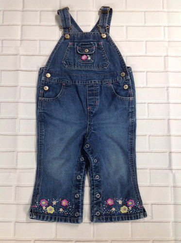 Old Navy Denim Print Overalls