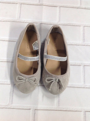 Old Navy Gray & Silver Shoes