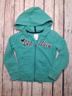 Old Navy Green & Blue Top