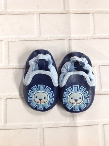 Old Navy Navy Print Slippers