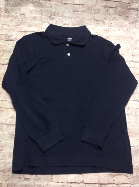 Old Navy Navy Solid Top