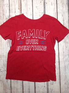 Old Navy Red Print Top