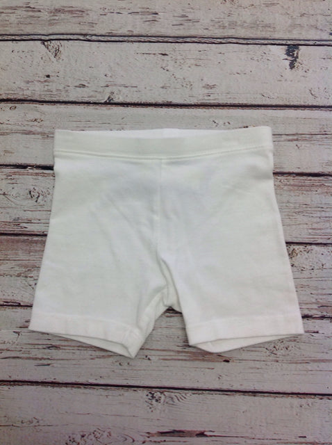 Old Navy White Solid Shorts