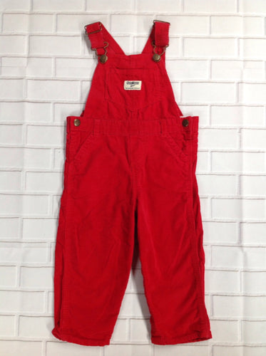 Oshkosh Red Overalls