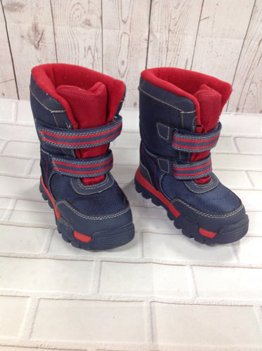 Oshkosh navy & red TB Footwear Snowboots