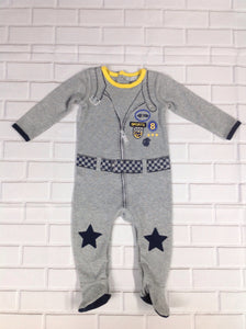 PETIT LEM Gray One Piece