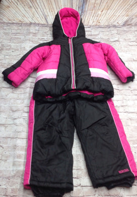 Pacific Trail PINK & BLACK Snowsuit